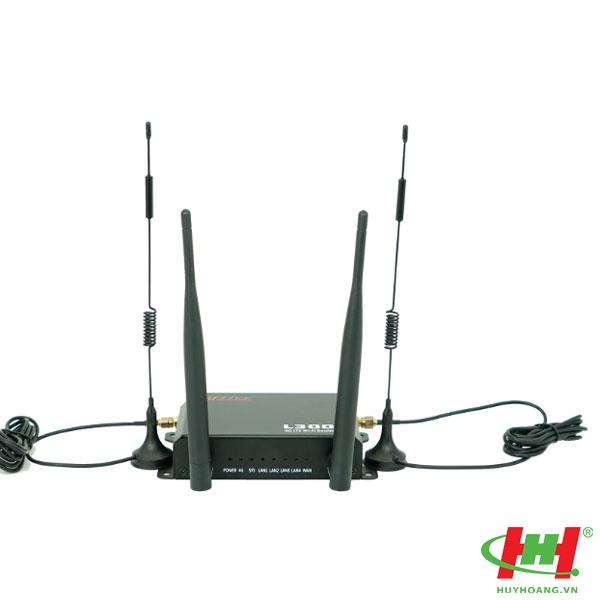 Wifi dùng cho xe khách APTEK L300 Router 3G/4G-LTE 1 SIM slot - WiFi chuẩn N 300Mbps