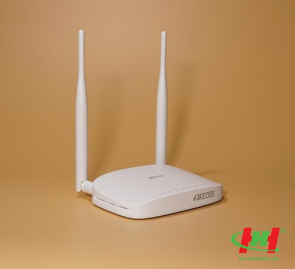 Wi-Fi Router APTEK N302 Wireless Router chuẩn N / 300Mbps