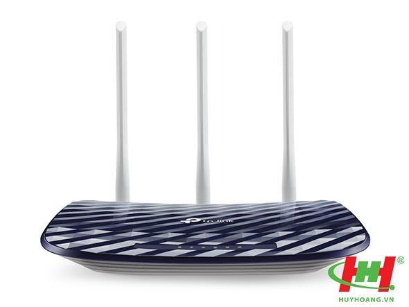Thiết bị phát Wifi chuẩn AC Wi-Fi TP-Link AC750 - Archer C20 (3 ăng ten)