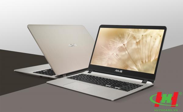 """Máy tính xách tay ASUS X507MA-BR211T N5000/ 4G/ 1T5/ Win10/ FP/ Vàng/ 15.6""""HD"""