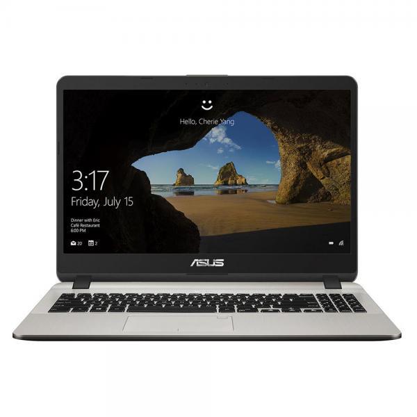 Máy tính xách tay Asus X507UF-EJ121T  i5-8250U/ 4GD4/ 1T5/ 15.6FHD/ FP/ BT4/ 3C33Whr/ VÀNG/ WIN10SL/ 2GD5_MX130