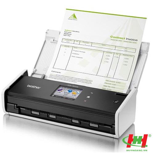 Máy Scan 2 mặt tự động Brother ADS-1600w