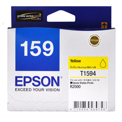 Mực in phun Epson C13T159490 Yellow