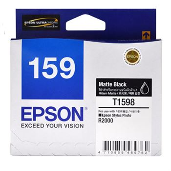 Mực in phun Epson C13T159890 Matte Black