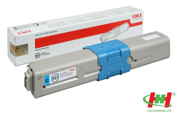 Mực in laser màu Toner Oki C310,  C330,  C510,  C530,  C331,  C511,  C531,   MC361,  MC561,  MC362,  MC562 Cyan