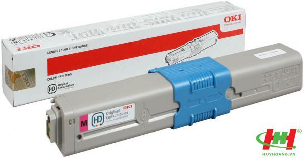 Mực in laser màu Toner Oki C310,  C330,  C510,  C530,  C331,  C511,  C531,   MC361,  MC561,  MC362,  MC562 Magenta