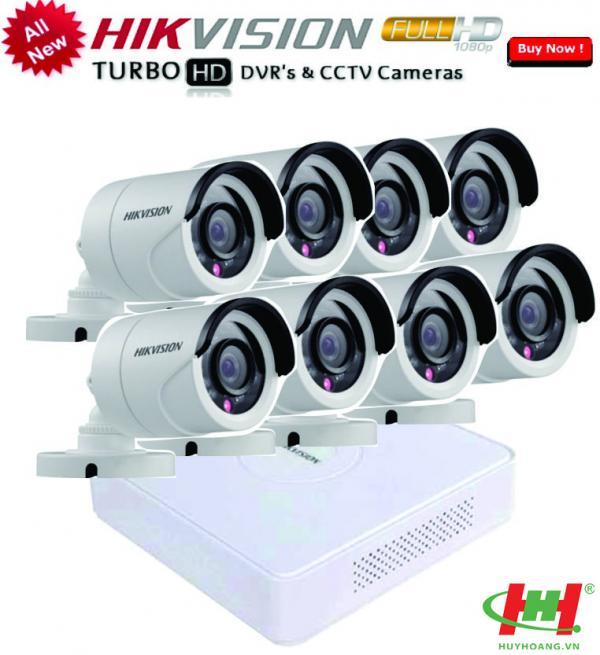 Bộ 8 camera quan sát Hikvision 5.0 Megapixel