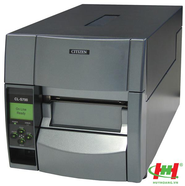 Máy in mã vạch Citizen CL S-700,  in nhiệt,  LPT,  RS232,  USB