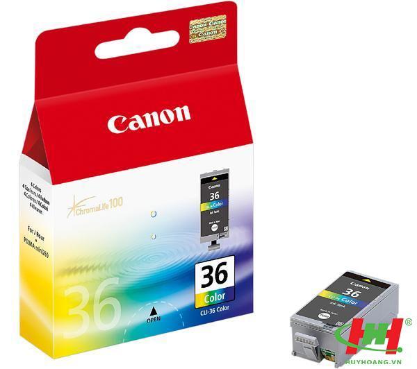 Mực In Canon CLI-36C màu