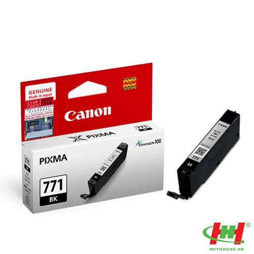Mực in Canon CLI-771BK đen