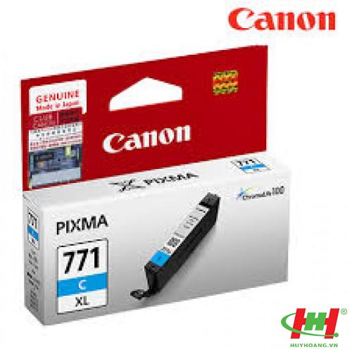 Mực in Canon CLI-771C xanh