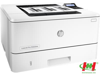 Máy in HP LaserJet Pro M402dne (in 2 mặt,  in qua mạng)