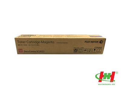 Mực photp Xerox chính hãng: CT203022 Toner Cartridge (M - Đỏ)