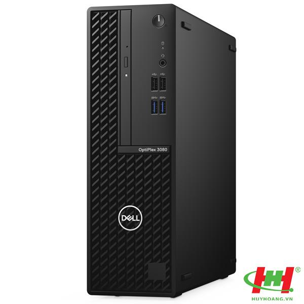 Máy tính để bàn Dell OptiPlex 3080 SFF 70233228 Intel Core i3-10100, 4GB RAM, 1TB HDD, DVDRW, VGA  Port, Mouse, Keyboard, Fedora, 1Yr