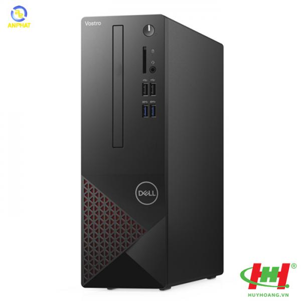 Máy tính để bàn Dell Vostro 3681ST Core i3-10100(3.6GHz),  4GB DDR4,  2666MHz,  1TB HDD,  Intel UHD Graphics 630,  NO DVD,  Wireless&Bluetooth,  USB Mouse & Keyboard,  Win10SL,  1Y,  Malaysia