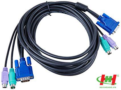 Bộ cáp kết nối KVM D-Link DKVM-CB5