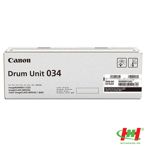 Cụm Drum máy in Canon MF810Cdn MF820Cdn Drum 034 Black