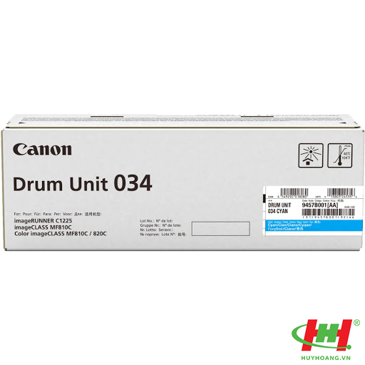 Cụm Drum máy in Canon MF810Cdn MF820Cdn Drum 034 Cyan