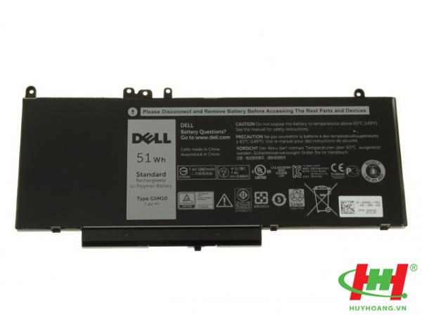 Pin laptop Dell Latitude E3550 E5450  E5550 E5570Type G5M10 8V5GX 08V5GX TỐT 51wh