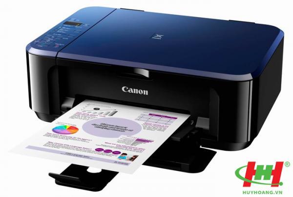Máy in màu Canon PIXMA E560 (In 2 mặt,  wifi,  Scan,  Copy)