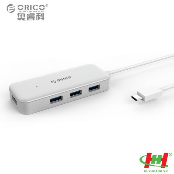 Bộ chia Type C ra 4 cổng USB 3.0 ORICO TC4U-U3-SV