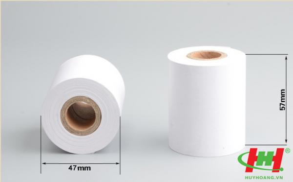 Giấy in hóa đơn nhiệt K57 fi45,  khổ 57mmx20m (K57x45)