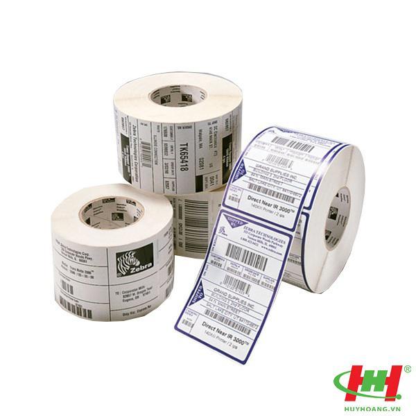 Giấy in tem,  giấy in mã vạch,  nhãn Decal (khổ 110mmx50mét)