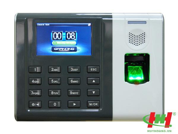 Máy Chấm Công Vân Tay +Thẻ Cảm Ứng GRANDING GT100