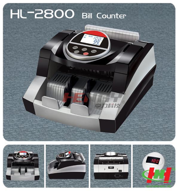 Máy đếm tiền thông thường HENRY HL-2800UV