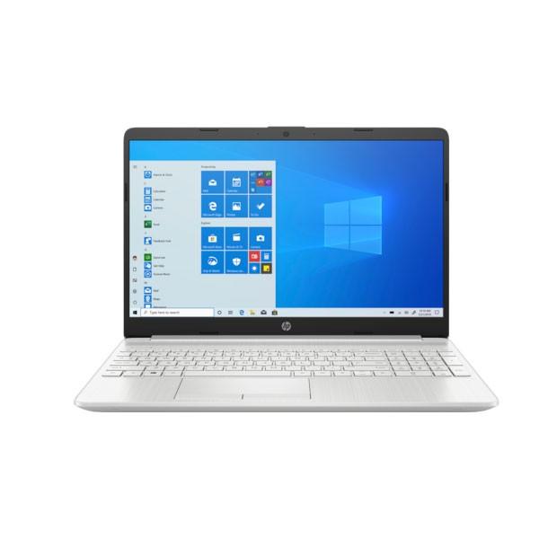 Máy tính xách tay HP 15s-du1105TU,  Core i3-10110U, 4GB RAM,  256GB SSD,  Intel Graphics, 15.6HD,  Wlan ac+BT,  3cell,  Win 10 Home 64,  Silver,  1Y WTY_2Z6L3PA