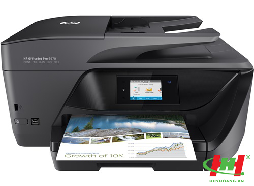 Máy in màu HP OfficeJet Pro 6970 AIO Printer (in 2 mặt,  scan,  copy,  fax,  Wifi)
