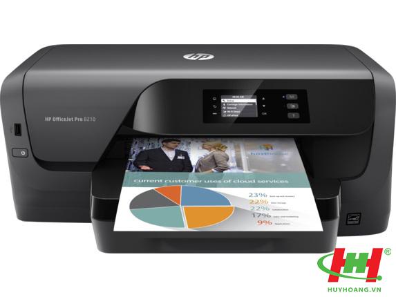 Máy in màu HP OfficeJet Pro 8210 (in 2 mặt A4,  wifi)
