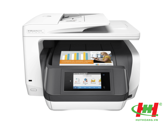 Máy in màu HP Officejet Pro 8730 eAIO (in 2 mặt,  scan,  copy,  fax,  Wifi)