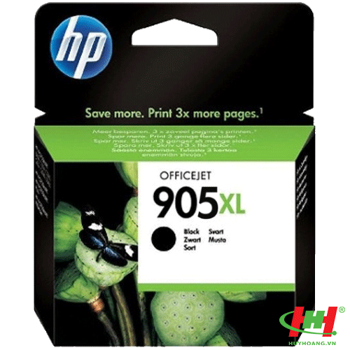 Mực in HP 905XL High Yield Black Original Ink Cartridge (T6M17AA)