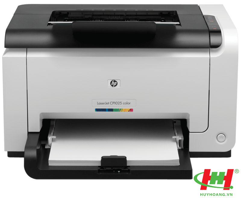 Máy in HP Color LaserJet CP1025NW ( in qua mạng,  wifi) CT