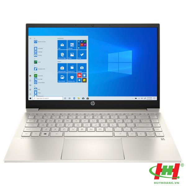 Máy tính xách tay HP Pavilion  14-dv0042TU _2H3L1PA Core i5-1135G7,  8GB RAM,  256GB SSD,  Intel Graphics,  14 FHD,  Wlan ac+BT,  3cell,  Office,  Win 10 Home 64,  Gold,  1Y WTY