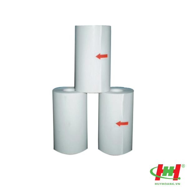 Giấy in hoá đơn dùng cho siêu thị,  shop,  nhà hàng,  hiệu sách giấy nhiệt K80 fi45 80mm (K80x45)