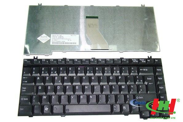 Bàn phím Laptop - Keyboard Toshiba A10,  A15,  A20,  A25,  A30,  A40,  A45,  A50,  A55,  A70,  A75 A80,  A100,  A105,  M10,  M15