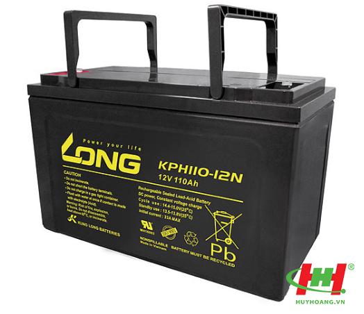Bình ắc quy Long 12V-110Ah (KPH110-12N)