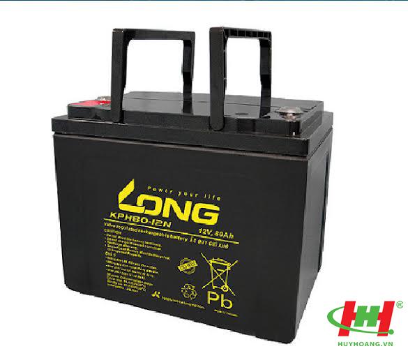 Bình ắc quy Long 12V-80Ah (KPH80-12N)