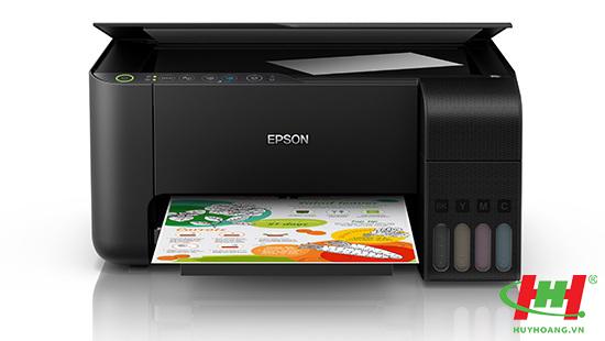Máy in phun màu Epson EcoTank L3150 (in wifi,  scan,  copy)