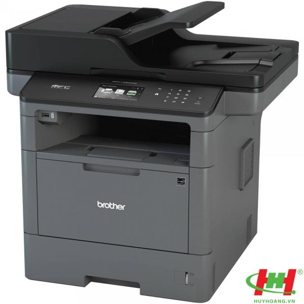 Máy in laser đa năng Brother MFC–L5900DW (in qua mạng,  scan,  photo,  fax,  wifi)