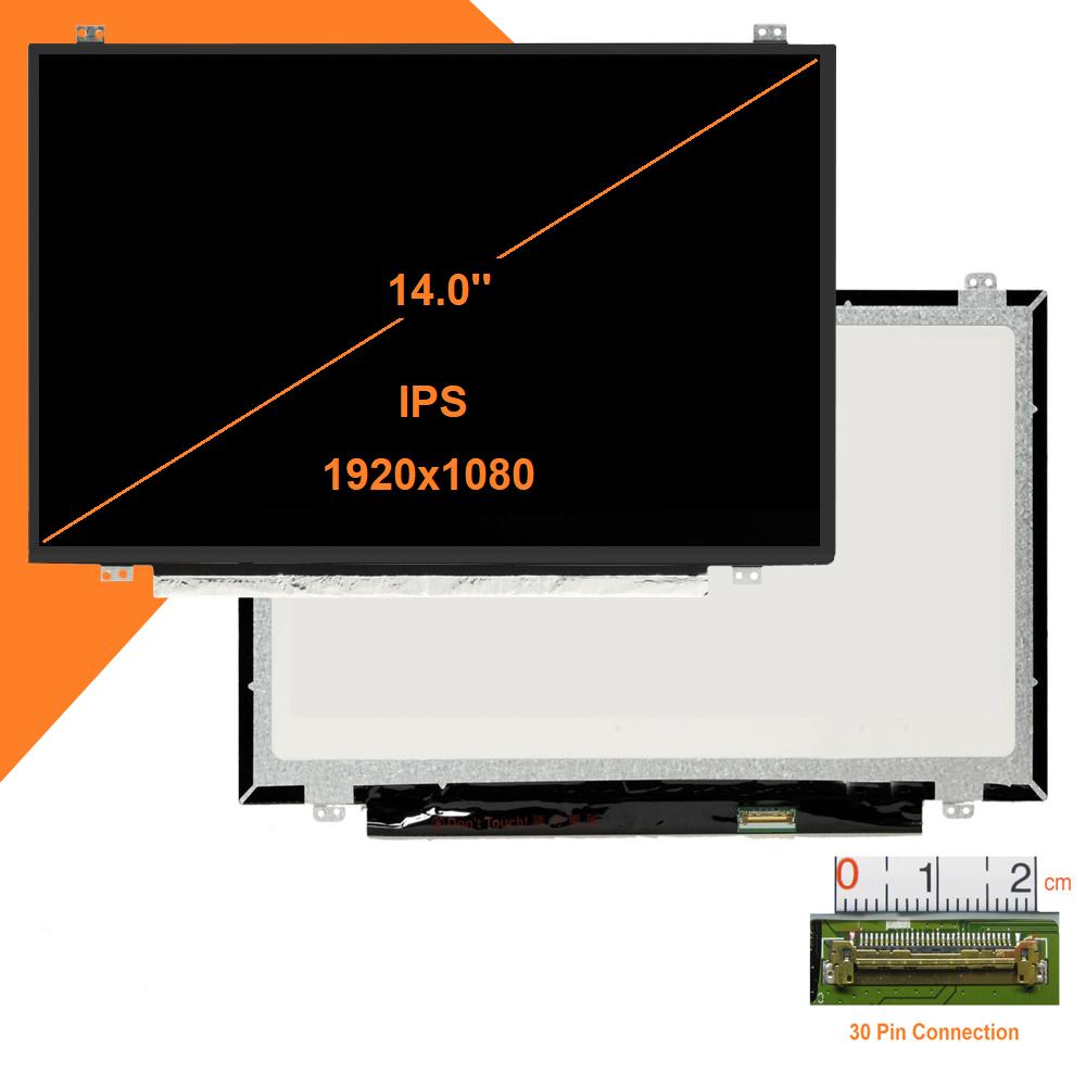 Màn hình laptop LCD 14.0 Led Slim 30pin Full HD (1920*1080),  IPS