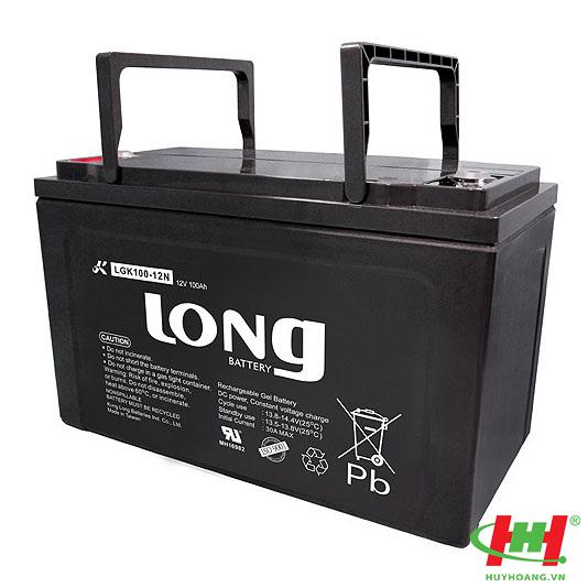 Bình ắc quy Long 12V-100Ah (LGK100-12N) GEL (100%)