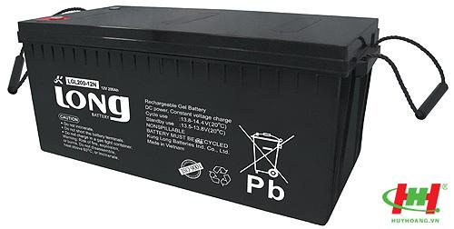 Bình ắc quy Long 12V-200Ah (LGL200-12N) GEL (100%)