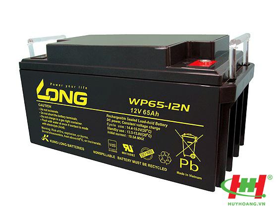Bình ắc quy Long 12V-65Ah (WP65-12N; WP65-12ARN)