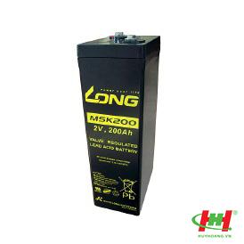Bình ắc quy Long 2V-200Ah (MSK200)