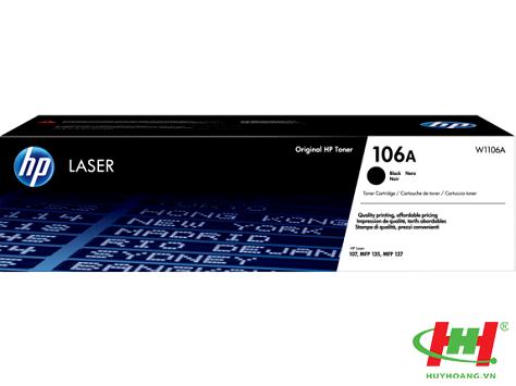 Mực máy in  HP Laser 107w 107a 107r (HP 106A Black,  W1106A) chính hãng