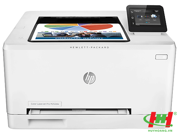 Máy in HP LaserJet Pro 200 color Printer M252dw (in 2 mặt,  in wifi)