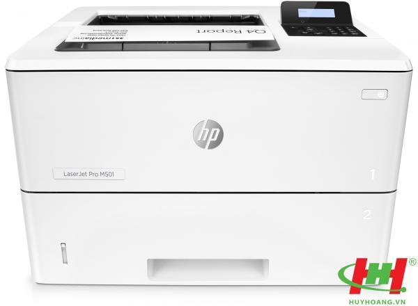 Máy in Laser HP LaserJet M501N (in qua mạng)
